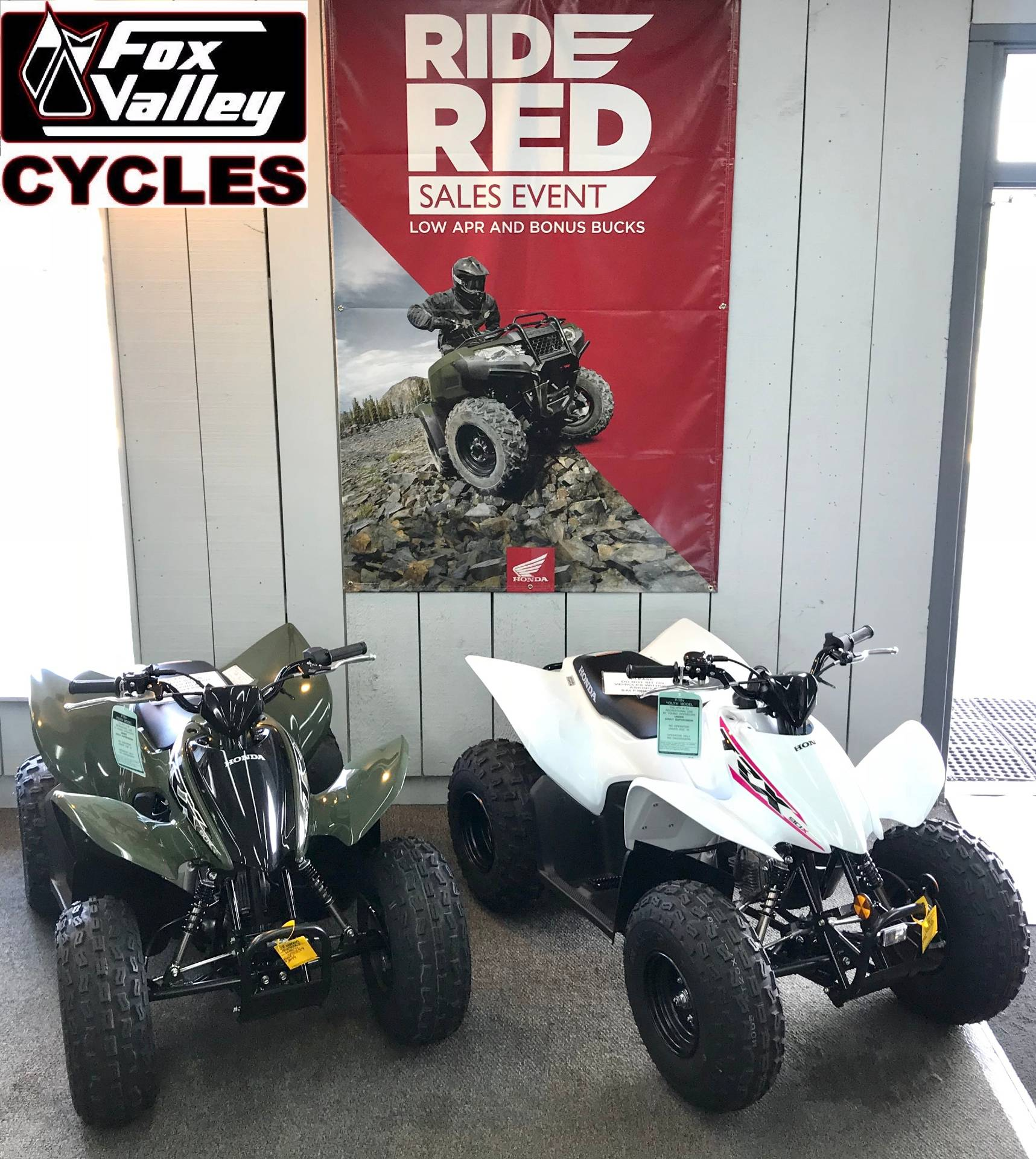 2019 Honda TRX90X in Aurora, Illinois - Photo 3
