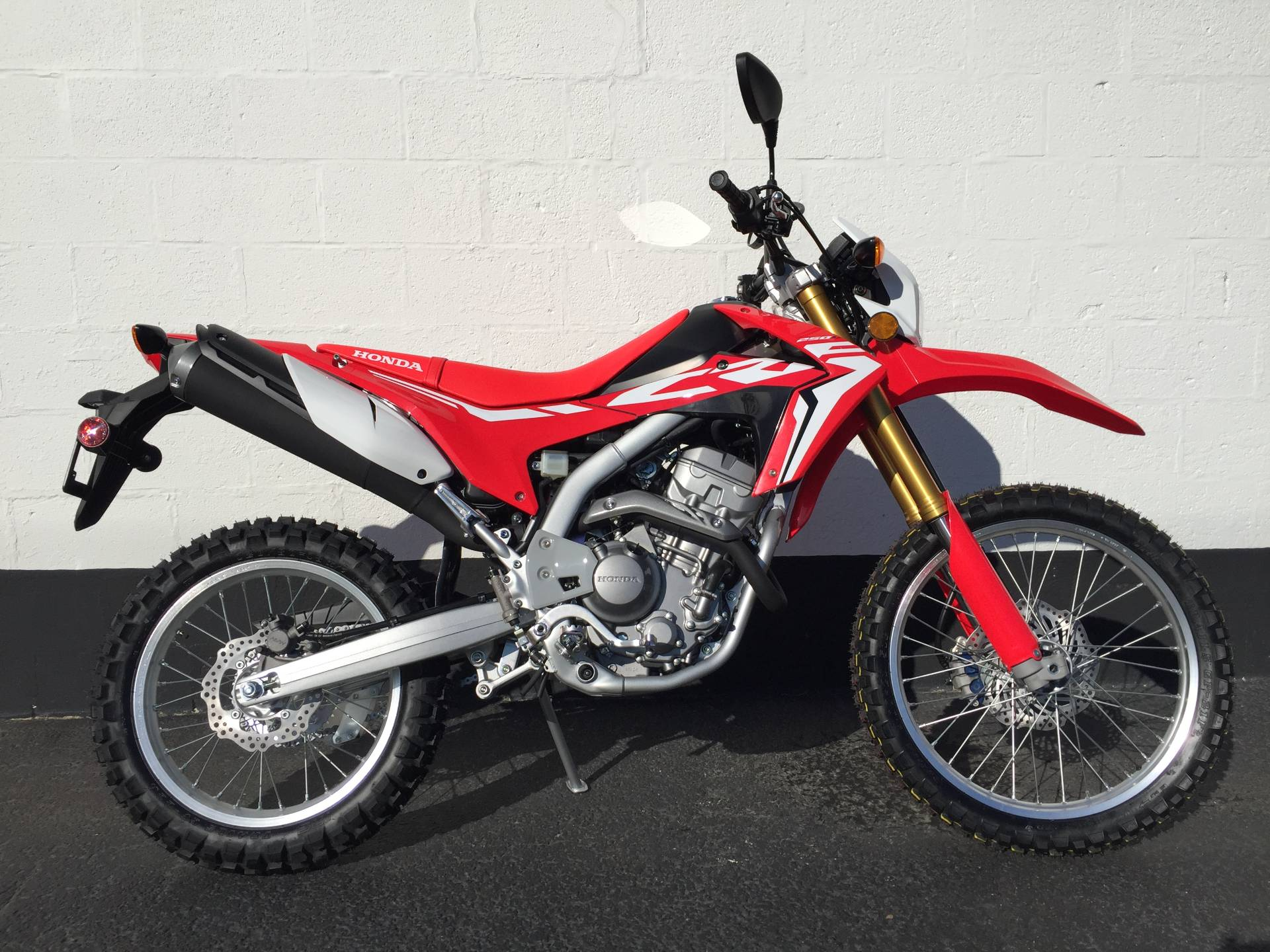 New 2018 Honda Crf250l Motorcycles In Aurora Il Stock Number H18193 1970 Motorcycle Vin Decoder Illinois