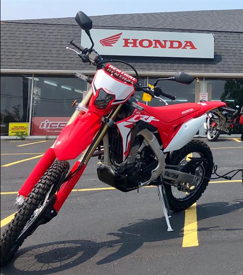 2019 Honda CRF450L in Aurora, Illinois - Photo 1