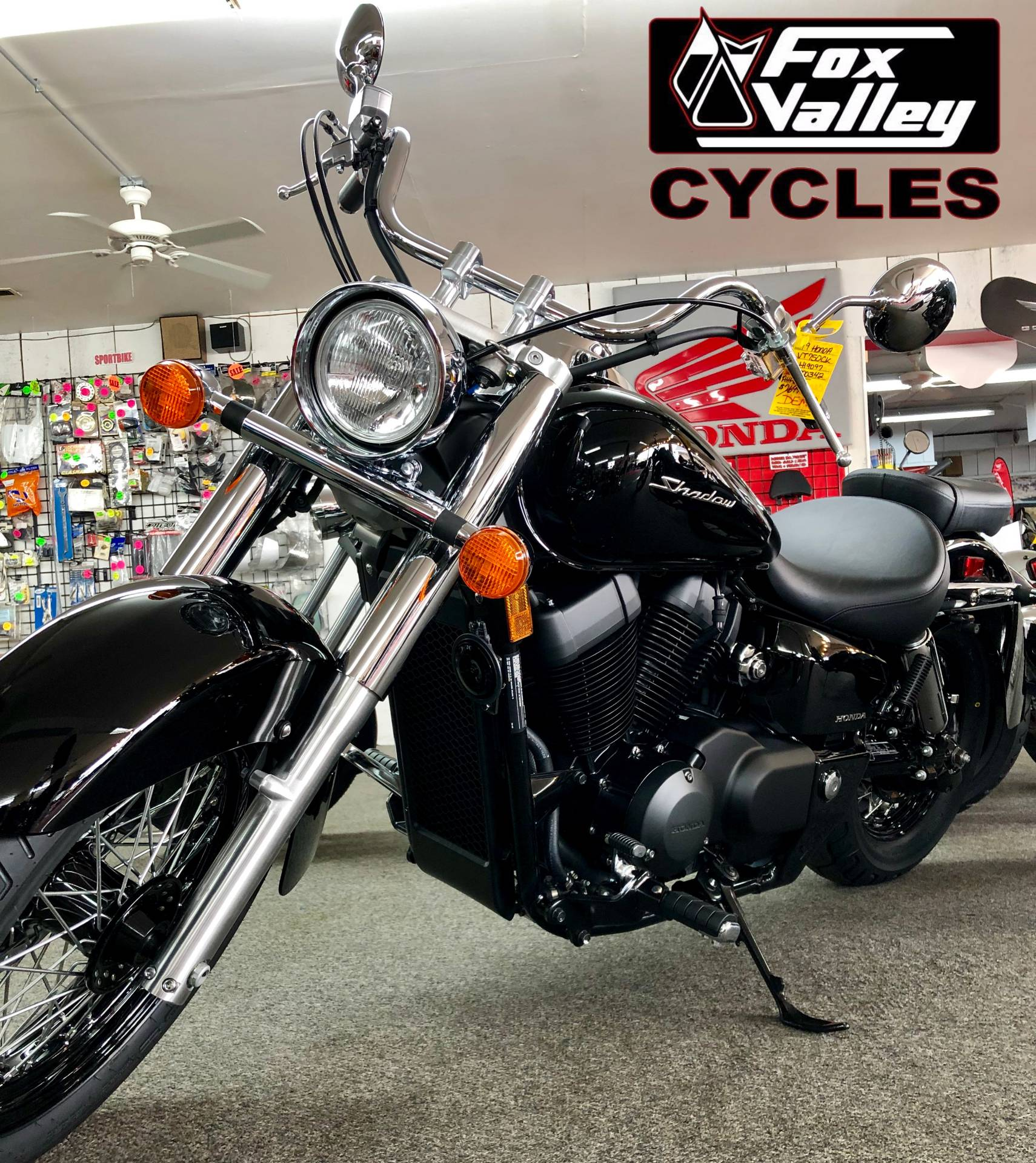 New 2019 Honda Shadow Aero 750 Motorcycles In Aurora Il Stock