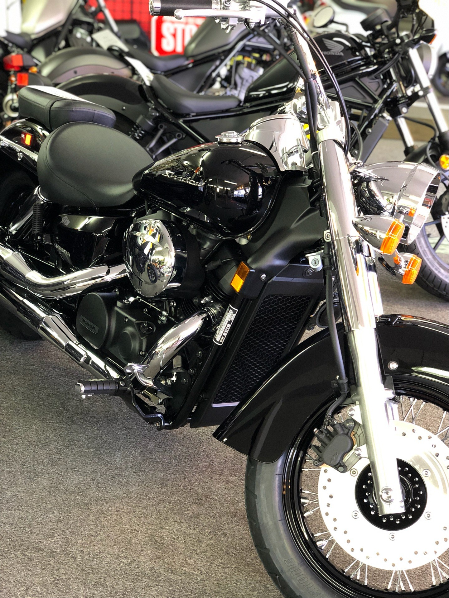 2019 Honda Shadow Aero 750 in Aurora, Illinois - Photo 4