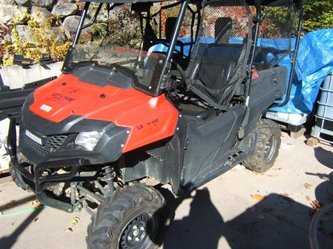 2015 Honda Pioneer 700 M4 in Conway, New Hampshire