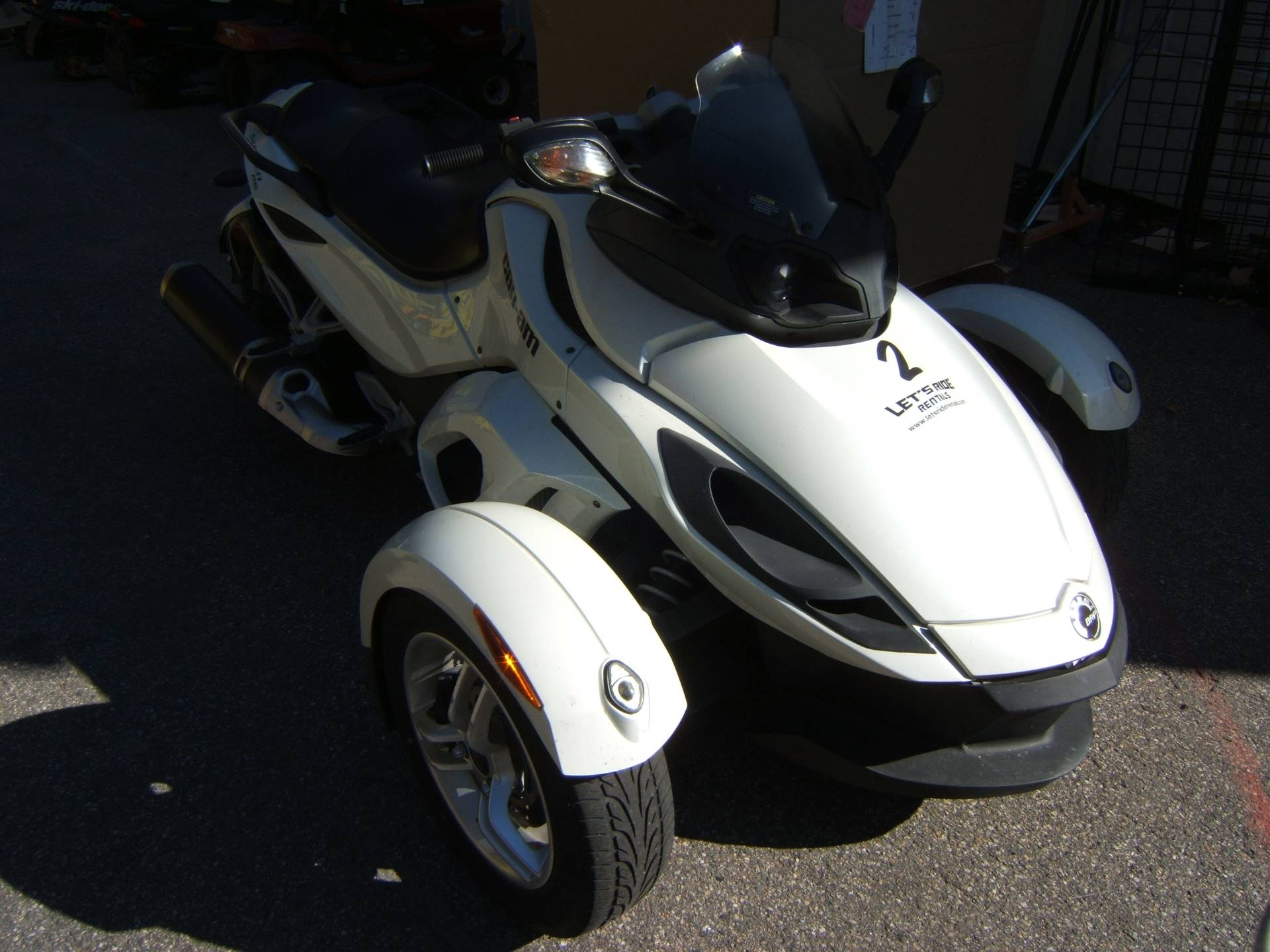 2012 Can-Am RS SE5 in Conway, New Hampshire