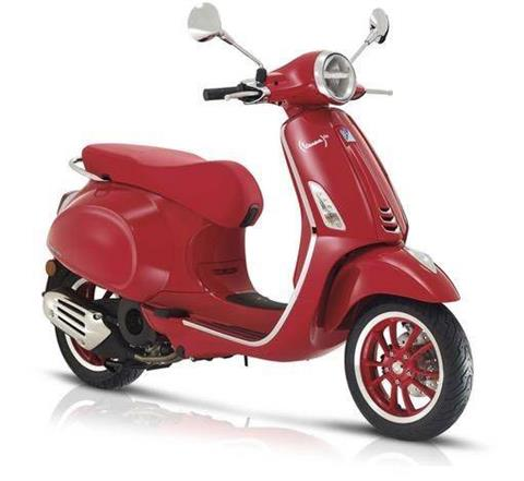 2021 Vespa Primavera 50 iGet Red in Naples, Florida