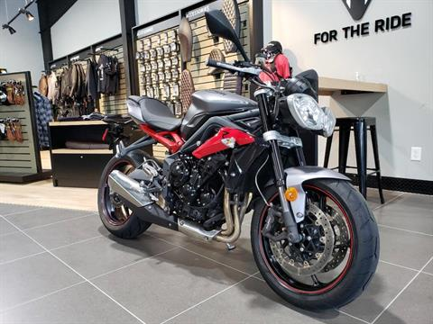 2015 Triumph Street Triple R ABS in Mooresville, North Carolina - Photo 2