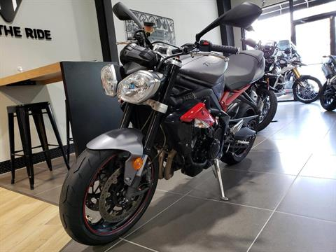2015 Triumph Street Triple R ABS in Mooresville, North Carolina - Photo 9