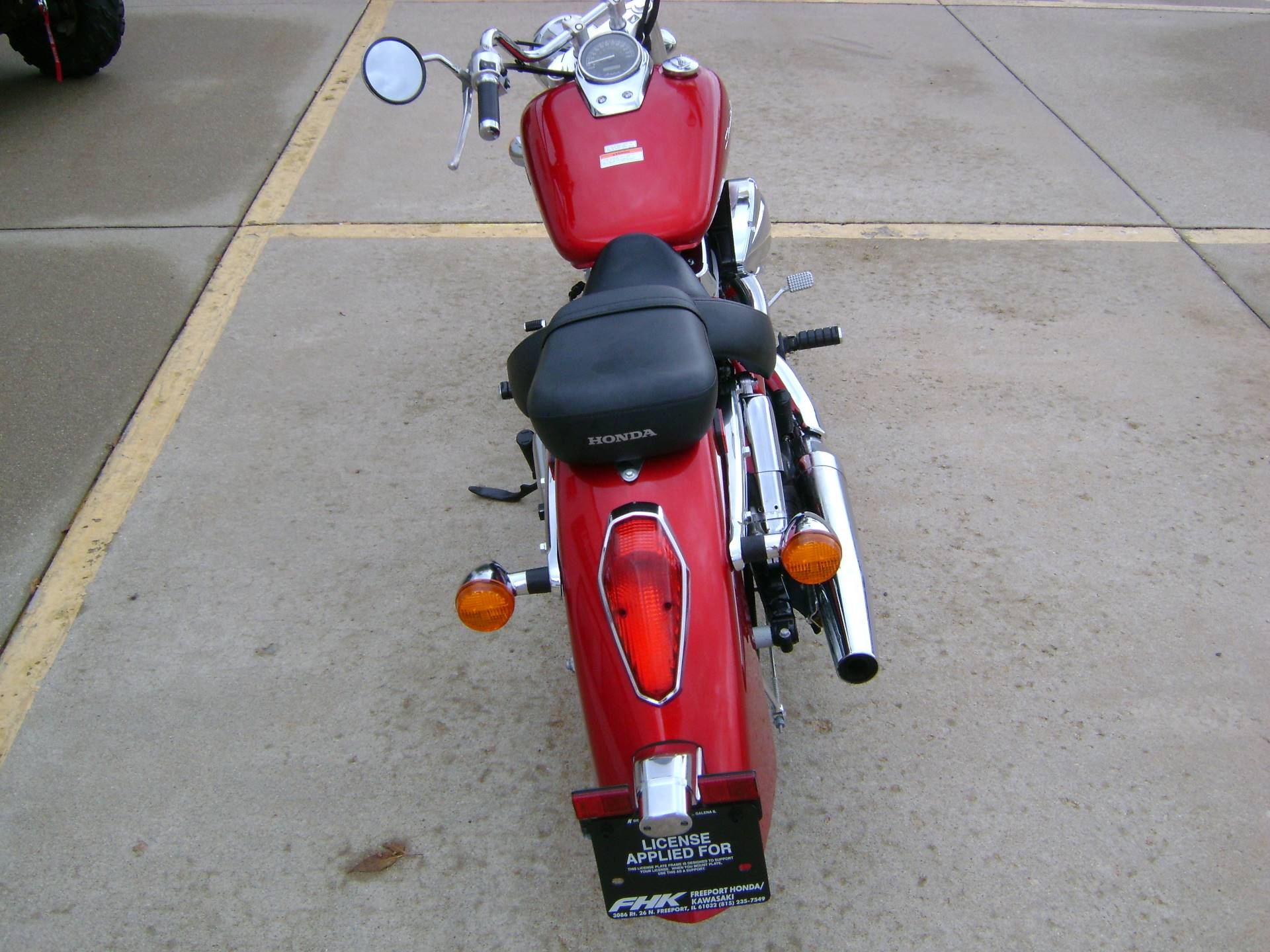 2015 Honda SHADOW AERO 750 in Freeport, Illinois - Photo 6