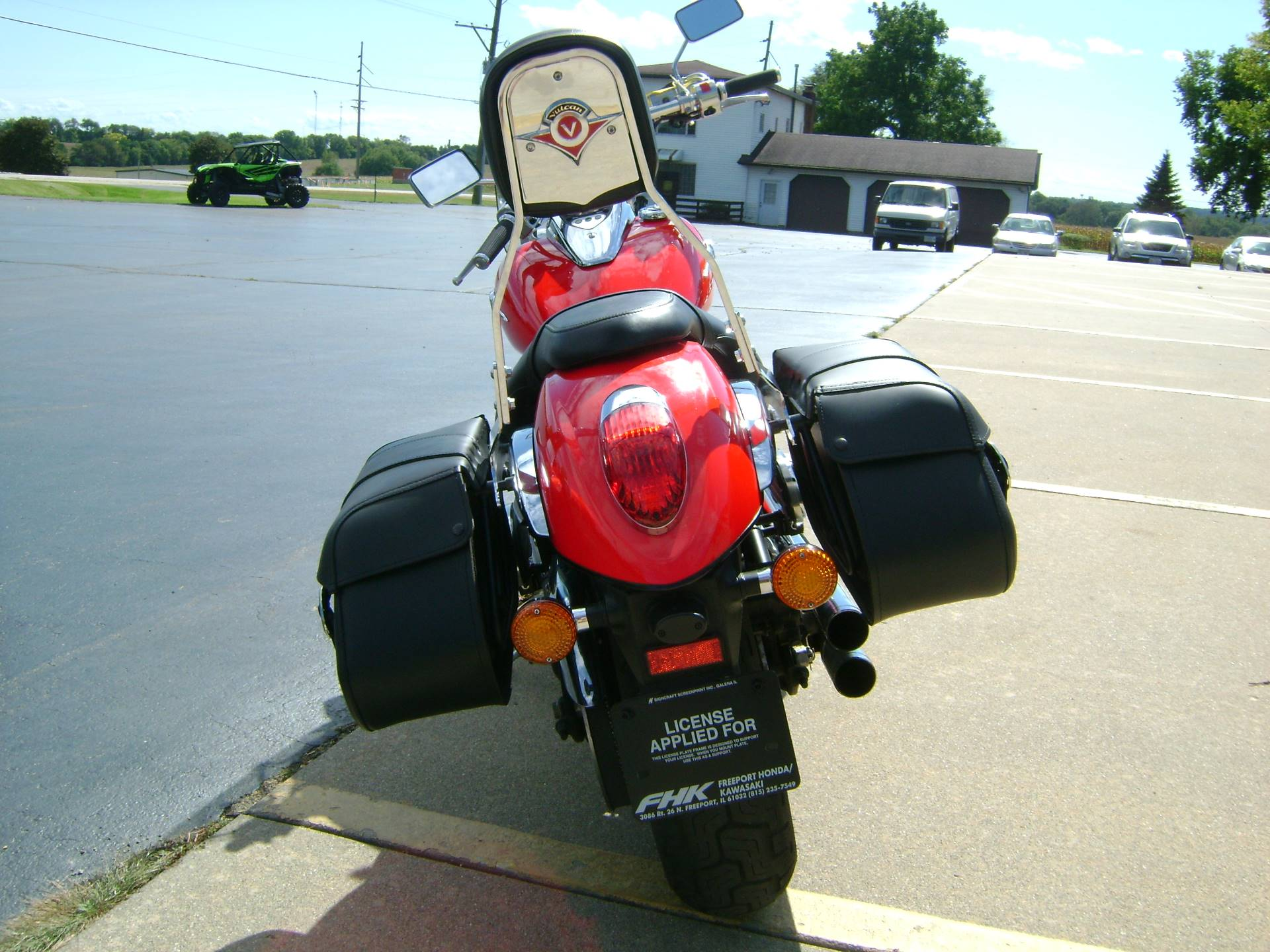 2008 Kawasaki VULCAN 900 CUSTOM in Freeport, Illinois - Photo 6