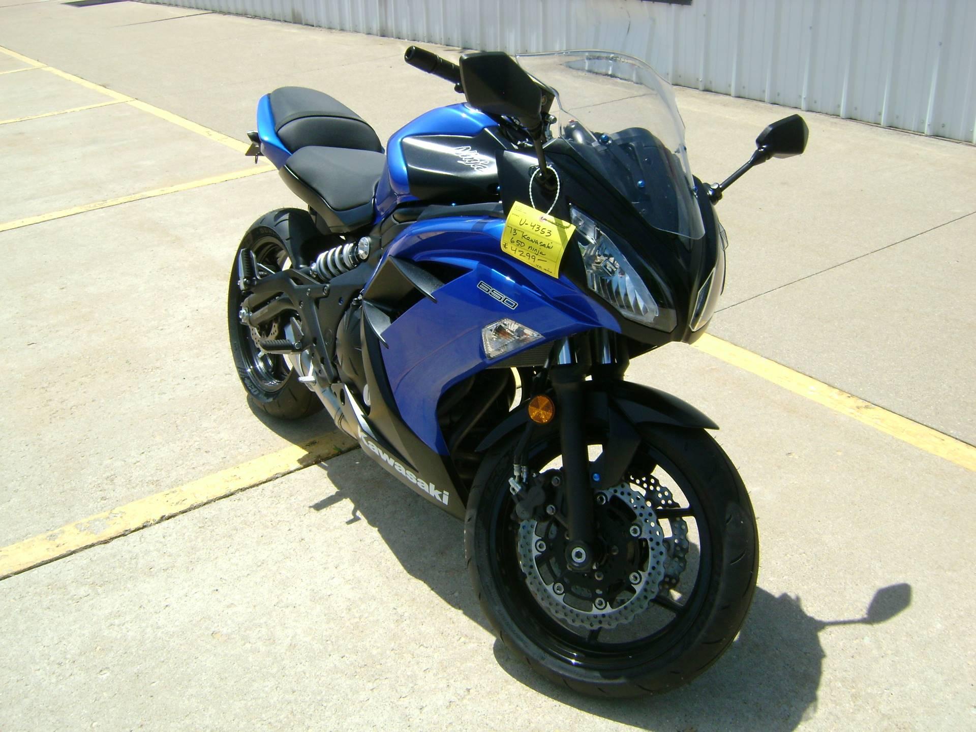 2013 Kawasaki Ex650 Ninja In Freeport Illinois