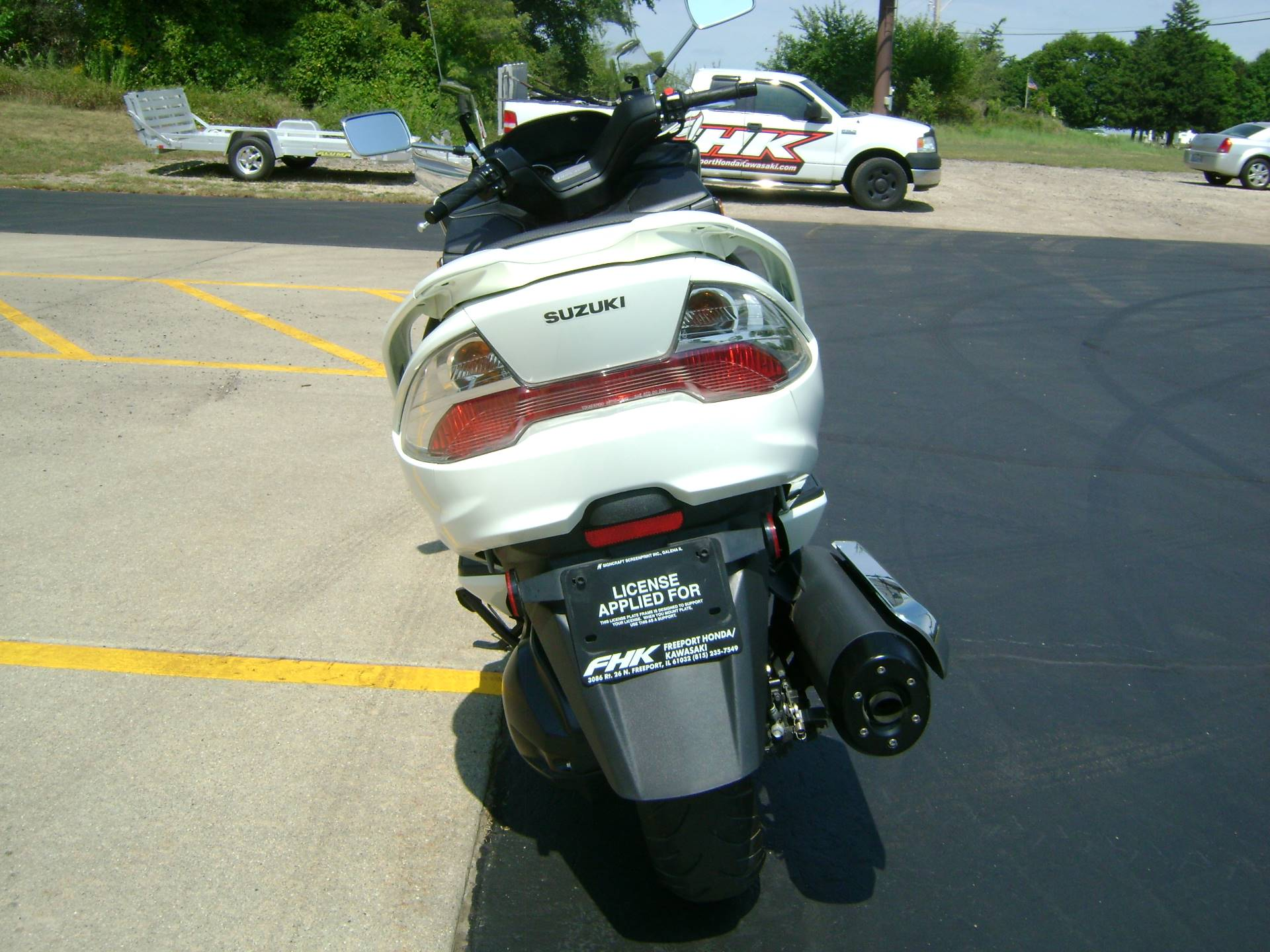 2012 Suzuki BURGMAN 400 ABS in Freeport, Illinois - Photo 6