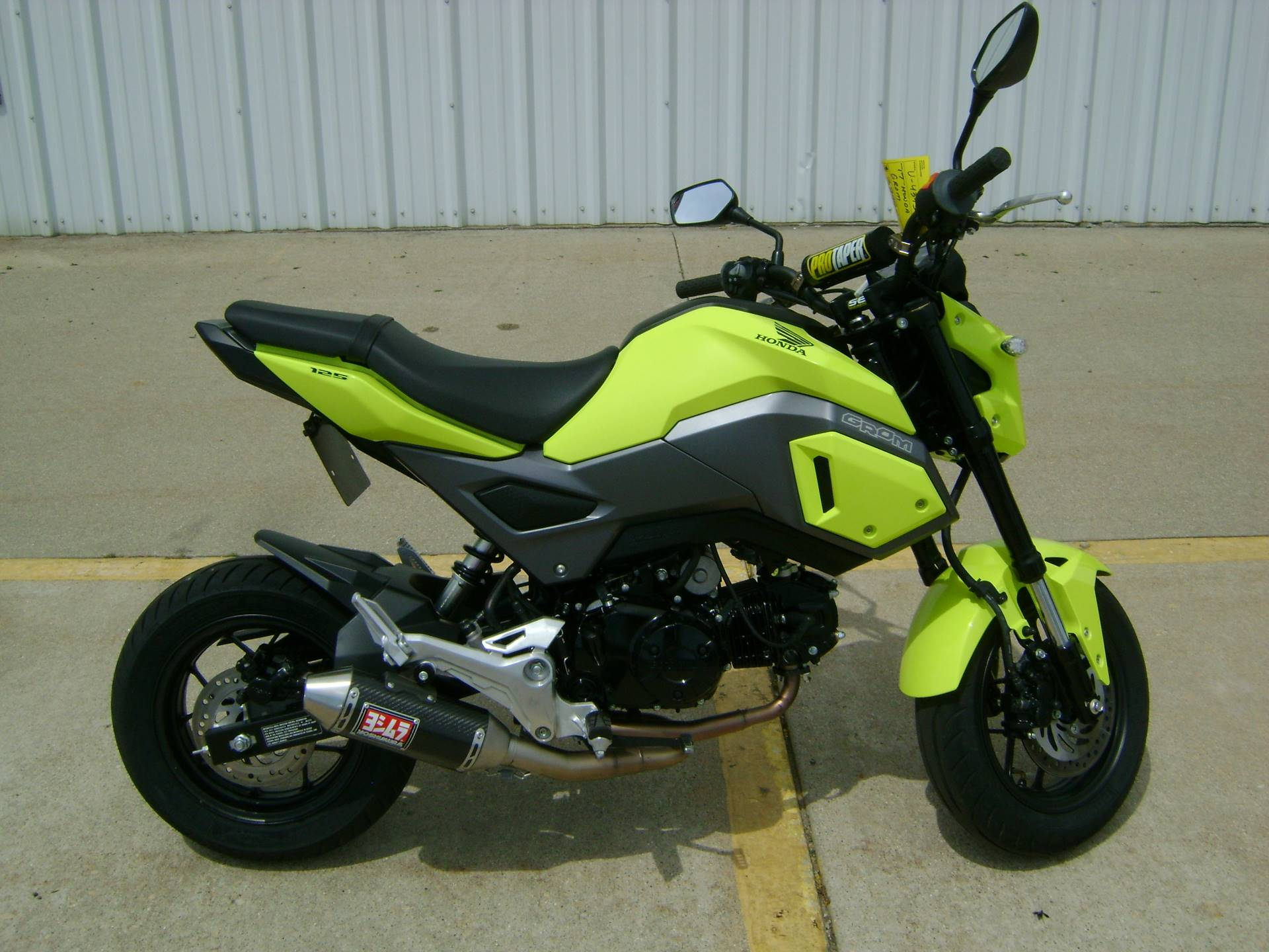 2017 Honda GROM 125 in Freeport, Illinois - Photo 1