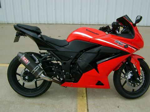 2012 Kawasaki EX250 NINJA 250 in Freeport, Illinois