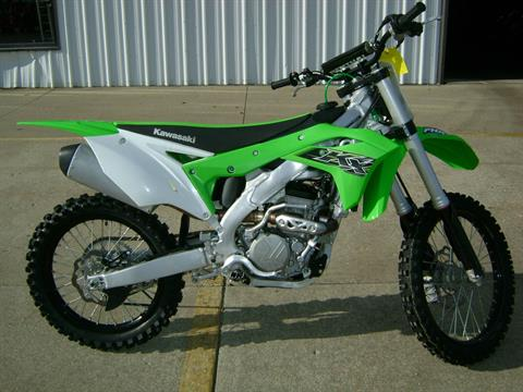 2019 Kawasaki KX250F in Freeport, Illinois