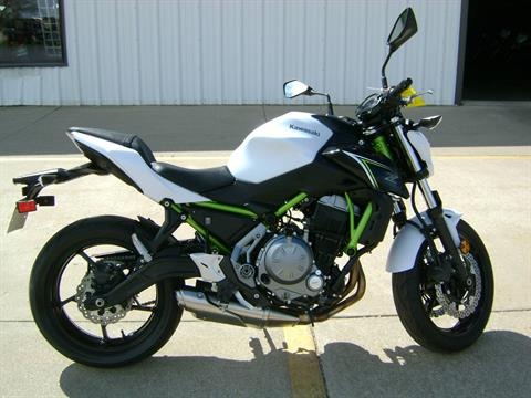 2017 Kawasaki Z650 in Freeport, Illinois