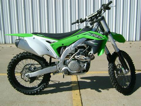 2016 Kawasaki KX450F in Freeport, Illinois