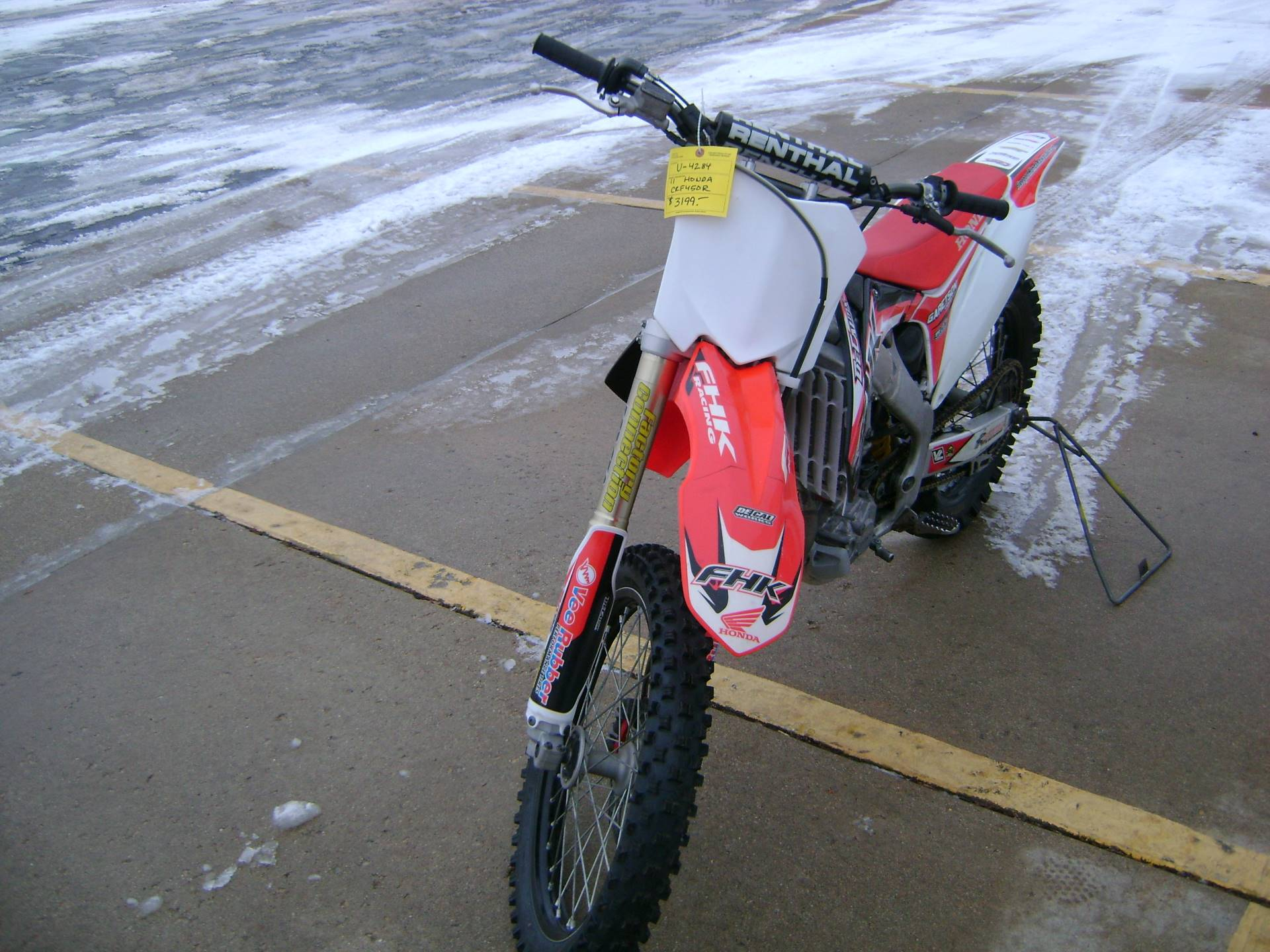 2011 Honda CRF450R in Freeport, Illinois