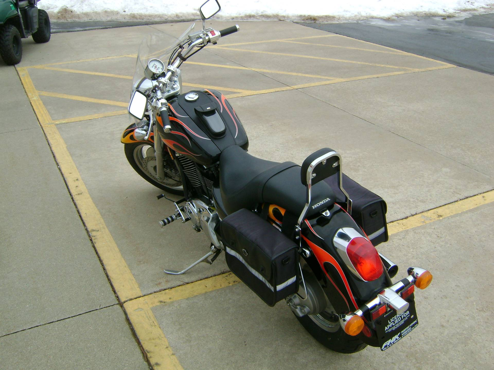 2007 Honda SABRE 1100 in Freeport, Illinois - Photo 5