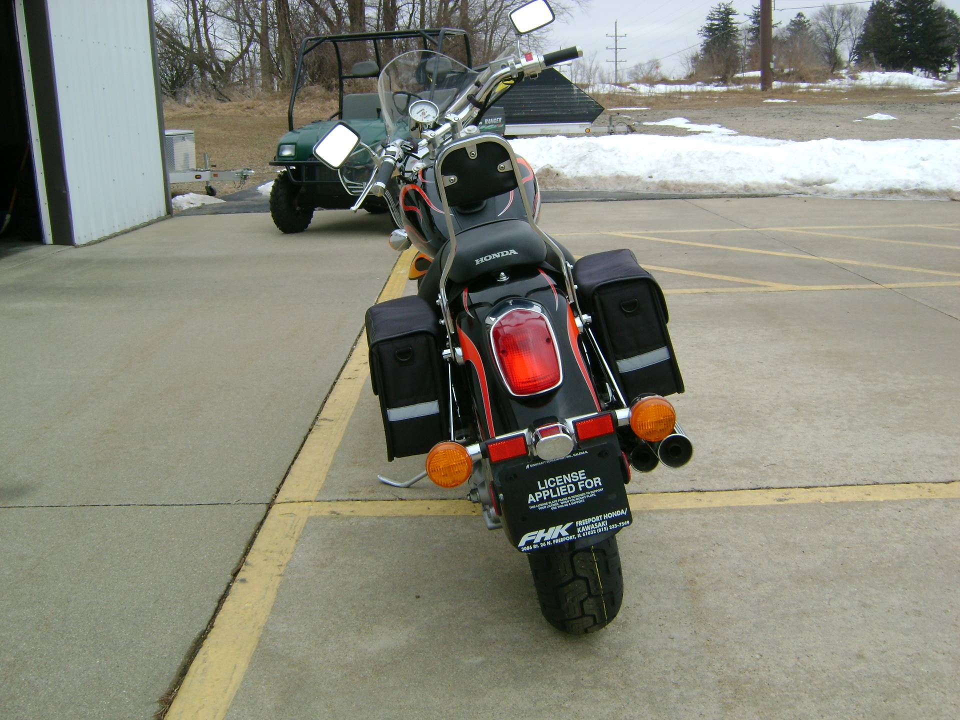 2007 Honda SABRE 1100 in Freeport, Illinois - Photo 6