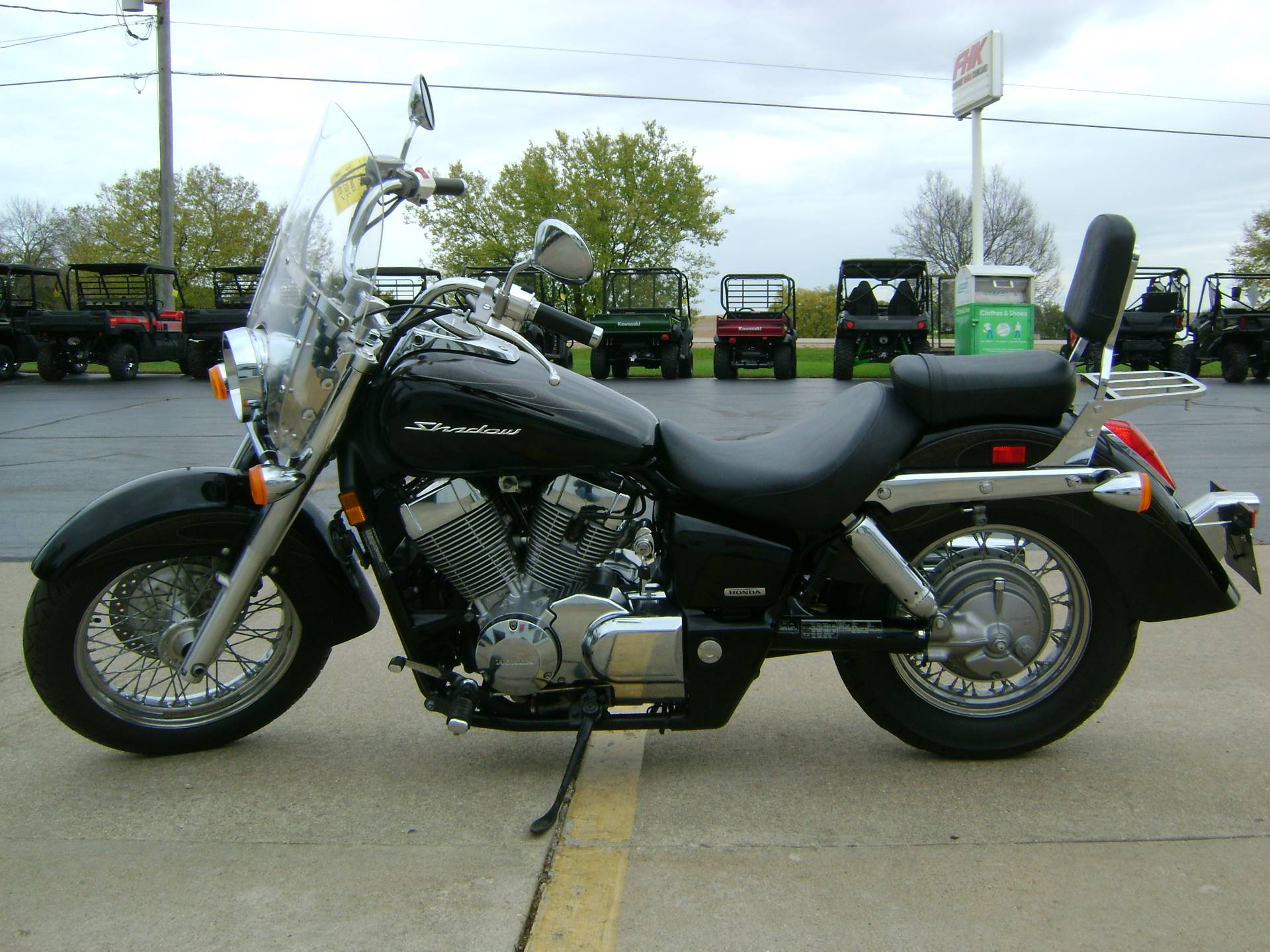 2009 Honda AERO 750 in Freeport, Illinois - Photo 4