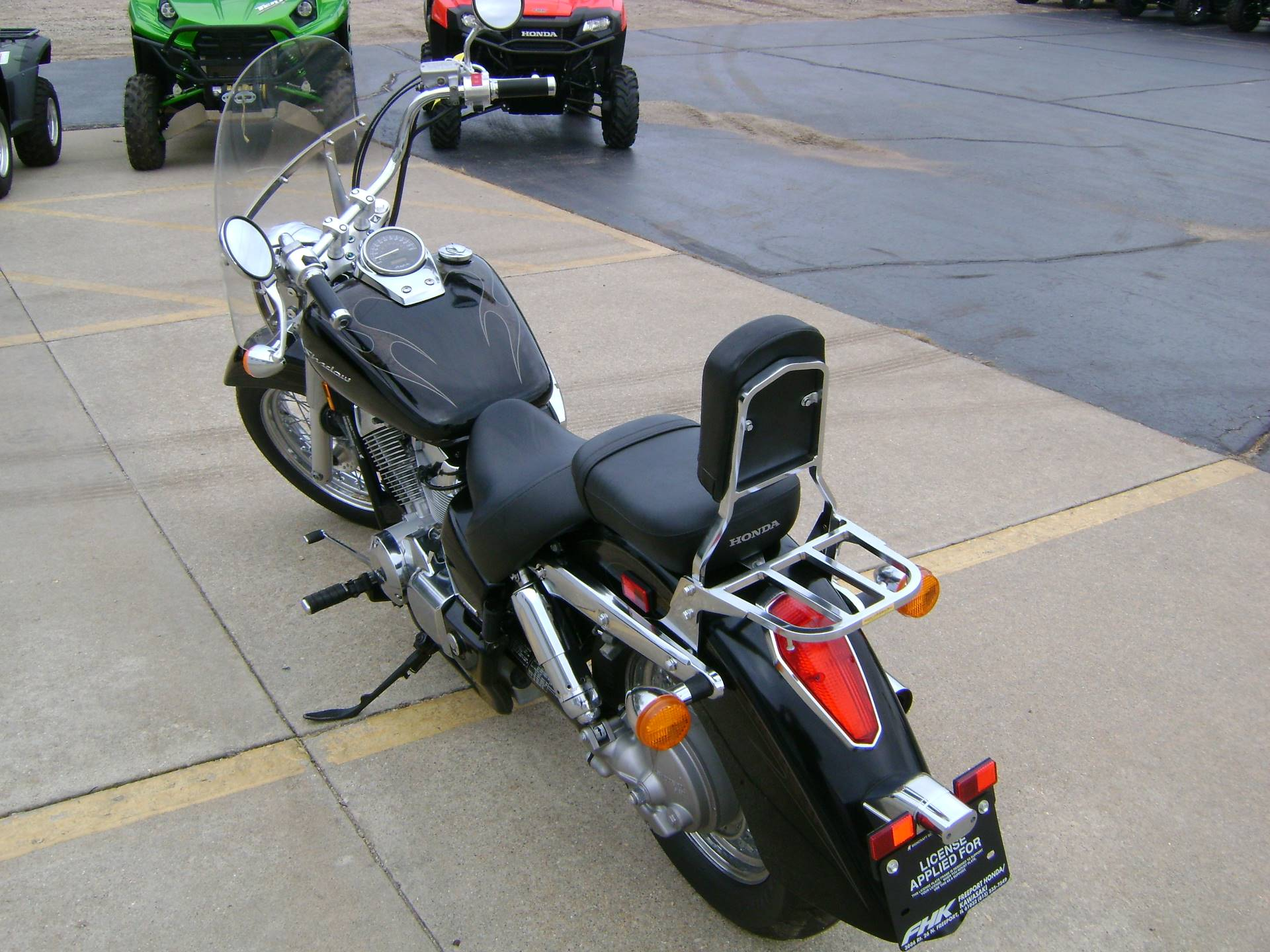 2009 Honda AERO 750 in Freeport, Illinois - Photo 5
