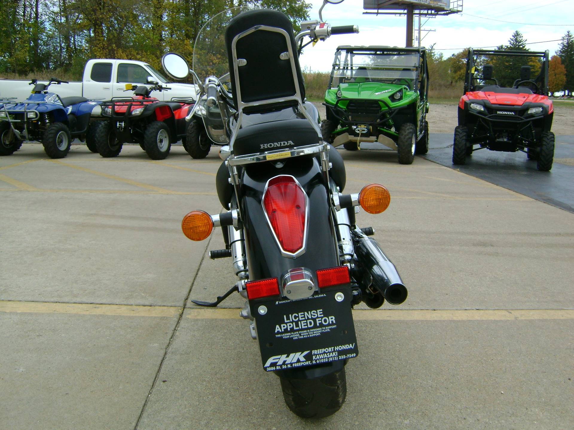 2009 Honda AERO 750 in Freeport, Illinois - Photo 6