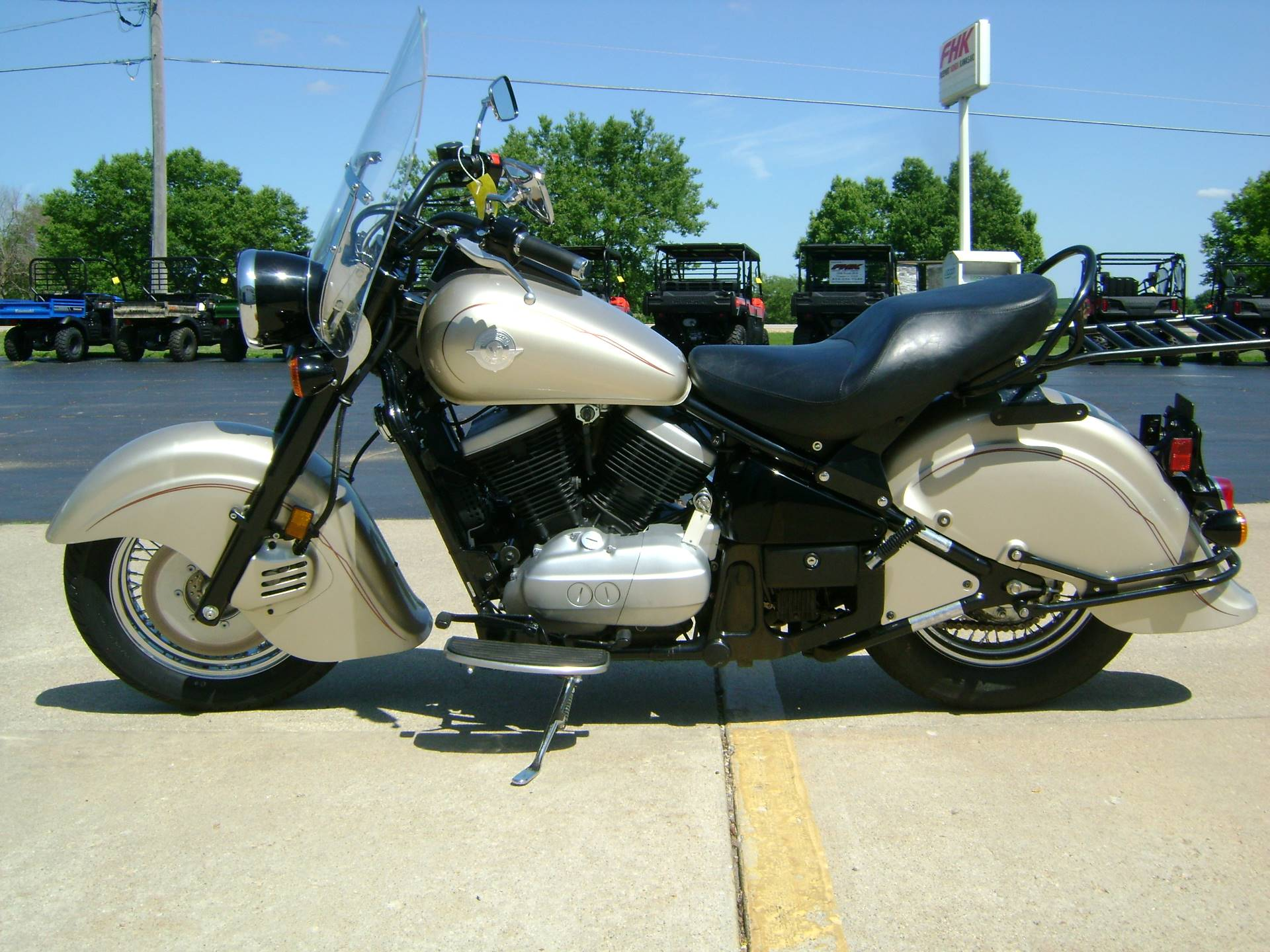 2000 Kawasaki VULCAN DRIFTER 800 in Freeport, Illinois - Photo 4