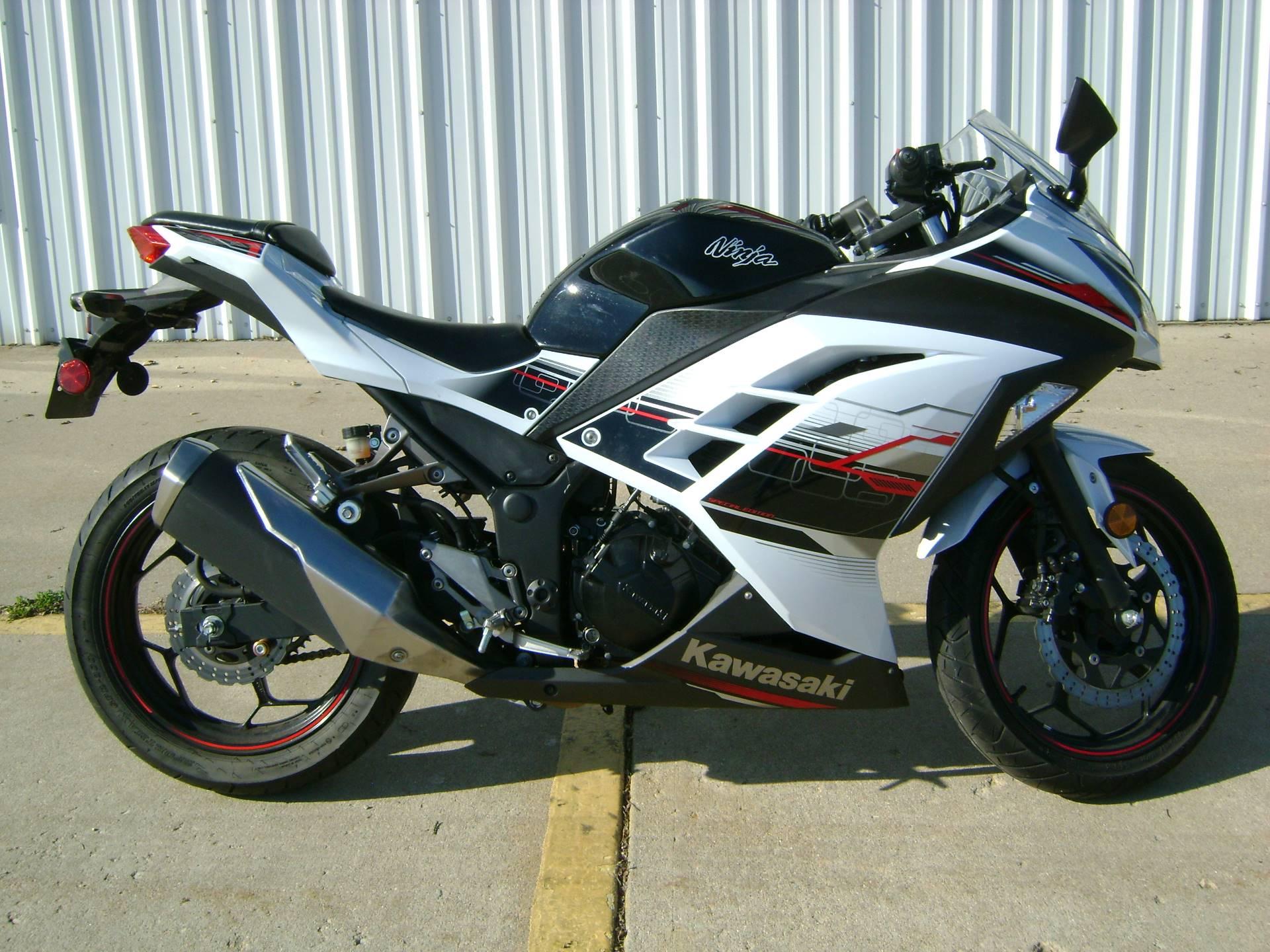 Used 2014 Kawasaki Ninja 300 Se Motorcycles In Freeport Il Stock
