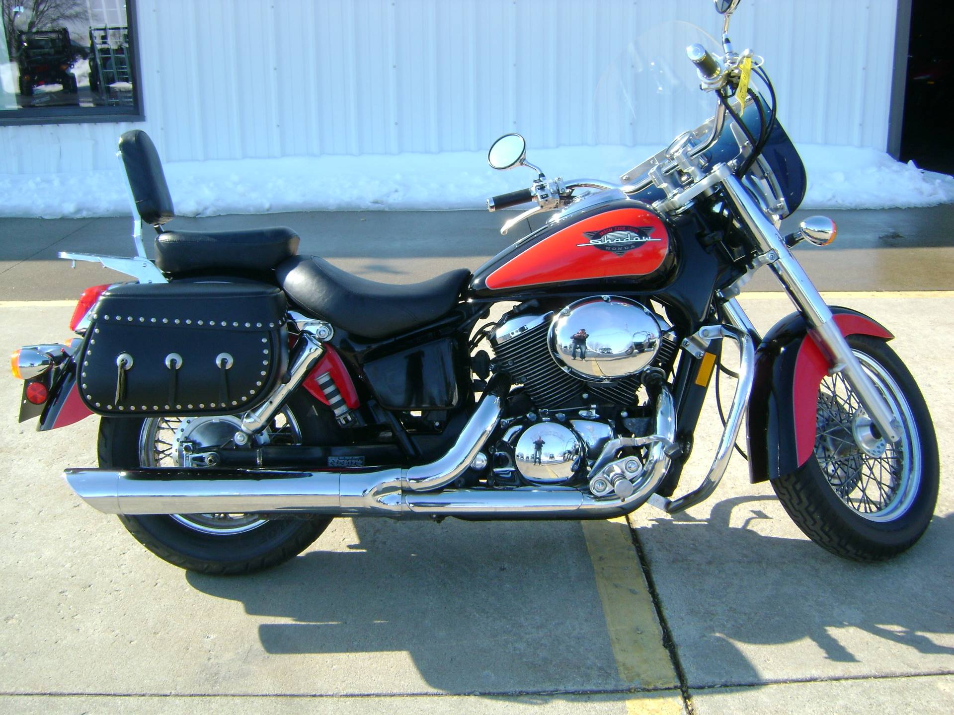 Used 2000 Honda Shadow Ace Deluxe 750 Motorcycles In Freeport Il