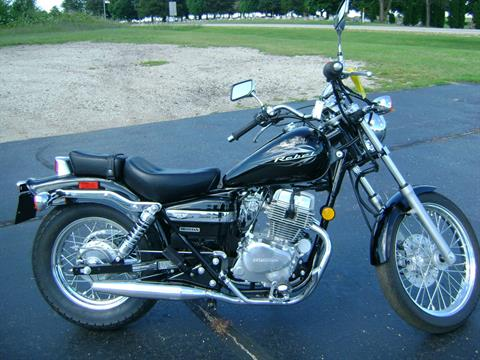 2014 Honda REBEL 250 in Freeport, Illinois