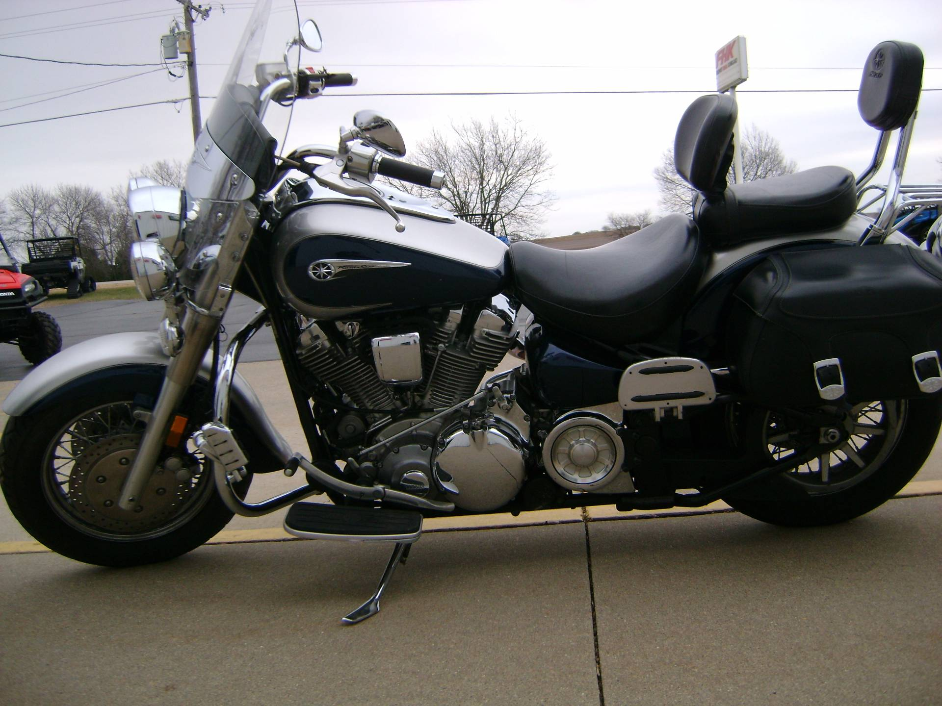 2007 Yamaha Road Star Sliverado 1700 in Freeport, Illinois