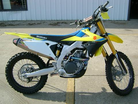 2018 Suzuki RMZ450 in Freeport, Illinois
