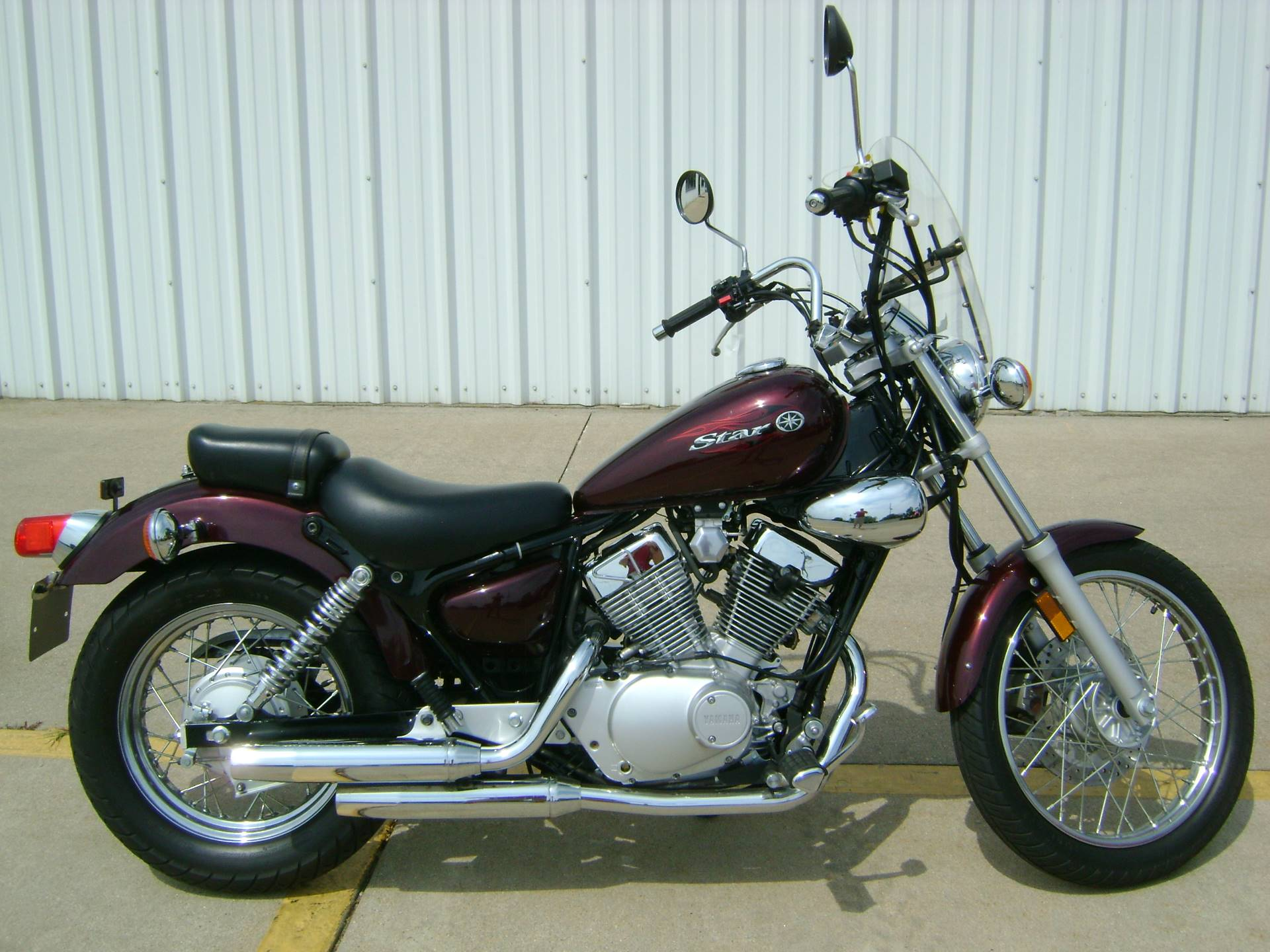 Used 2008 Yamaha V Star 250 Motorcycles in Freeport, IL | Stock ...