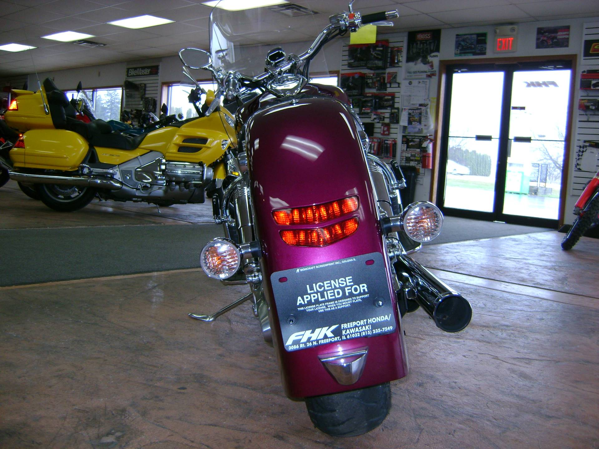 2004 Honda VTX1800N in Freeport, Illinois - Photo 9