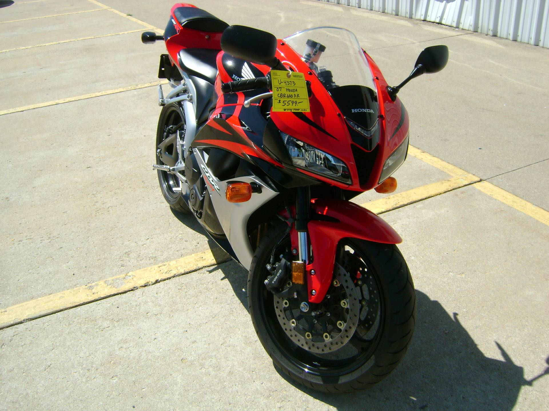2007 Honda CBR600RR in Freeport, Illinois - Photo 2