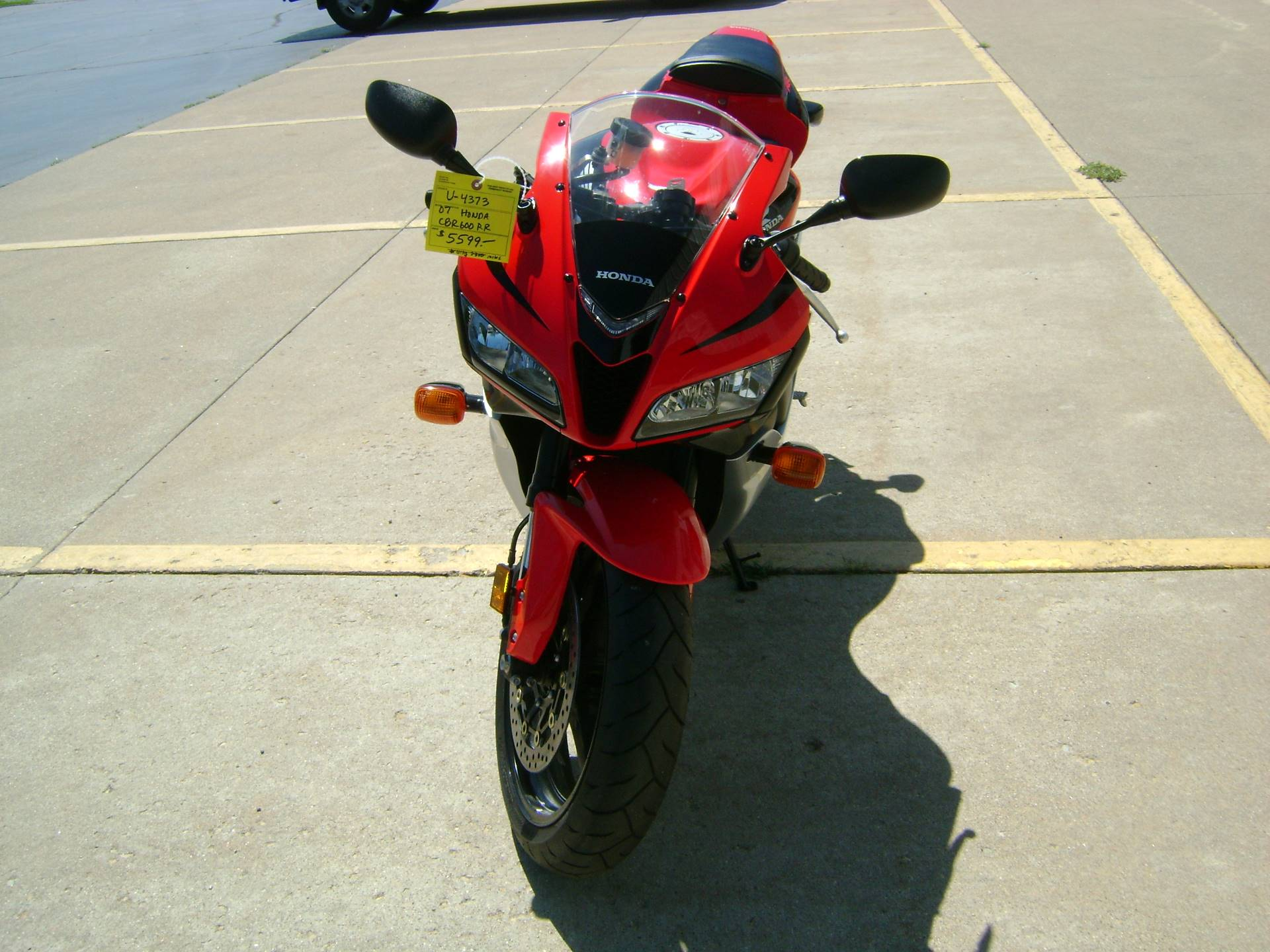 2007 Honda CBR600RR in Freeport, Illinois - Photo 3