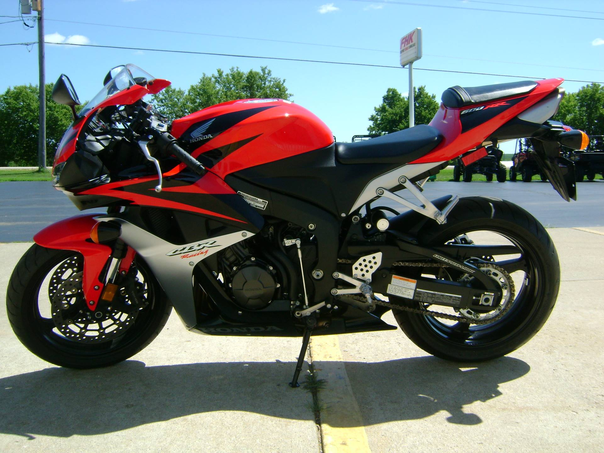 2007 Honda CBR600RR in Freeport, Illinois - Photo 5