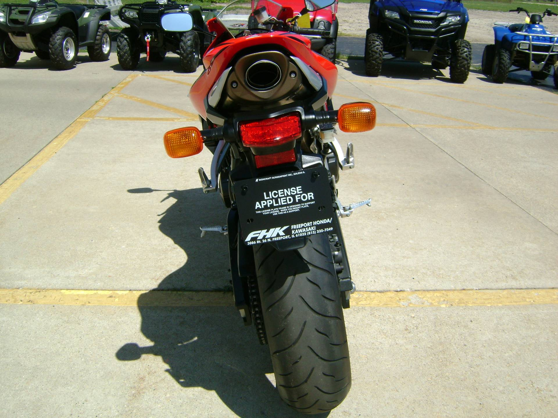 2007 Honda CBR600RR in Freeport, Illinois - Photo 7