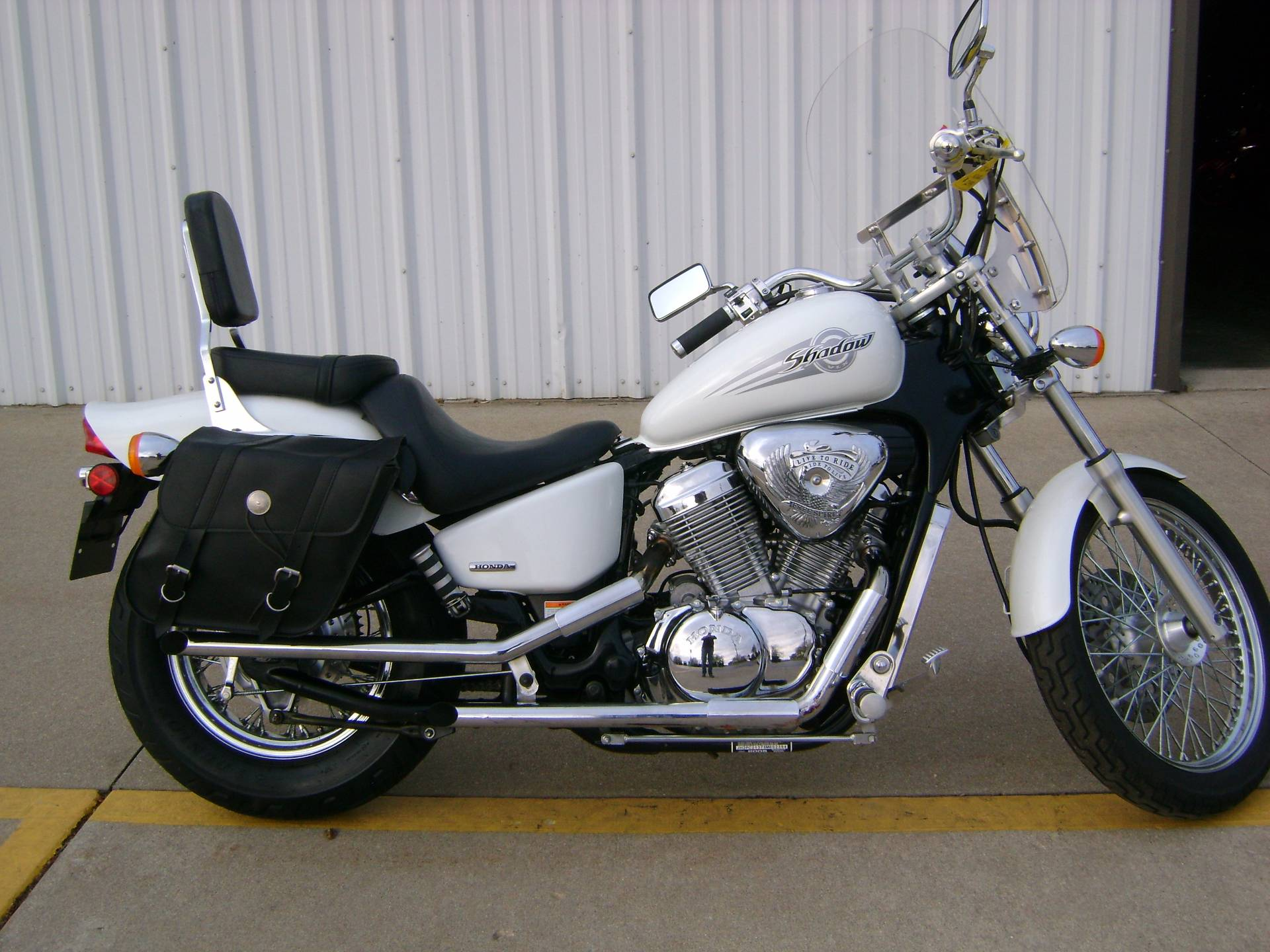 used 2005 honda shadow vlx 600 motorcycles in freeport il. Black Bedroom Furniture Sets. Home Design Ideas