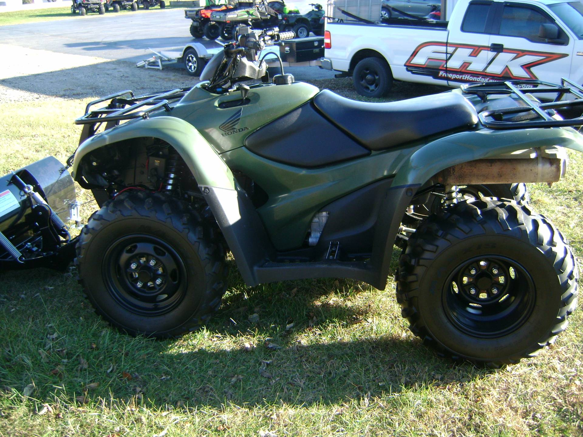 2012 Honda TRX420FE RANCHER in Freeport, Illinois