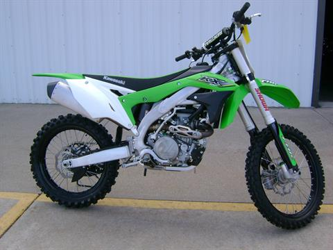 2017 Kawasaki KX450F in Freeport, Illinois