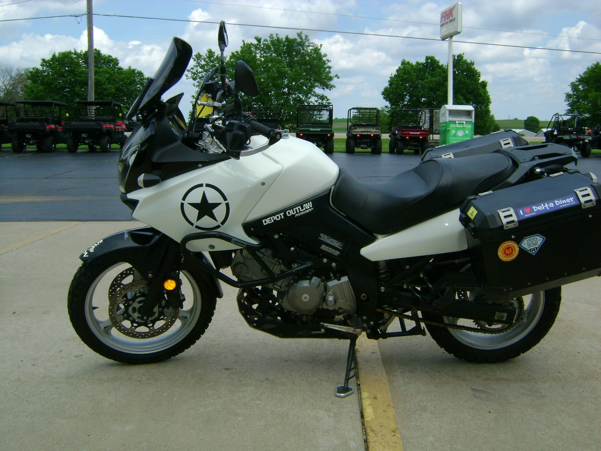 2011 Suzuki V-STROM 650 in Freeport, Illinois - Photo 5