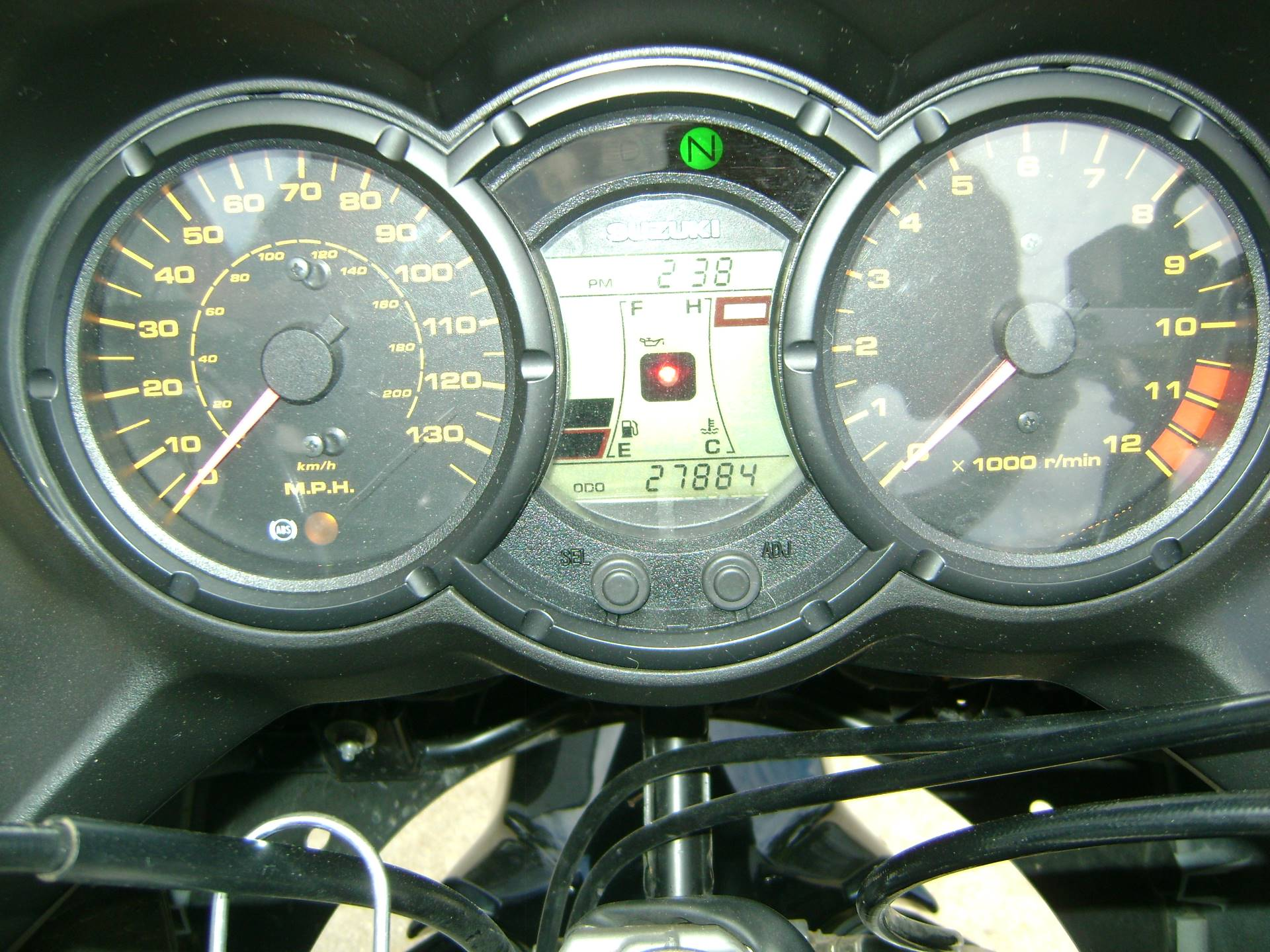 2011 Suzuki V-STROM 650 in Freeport, Illinois - Photo 11
