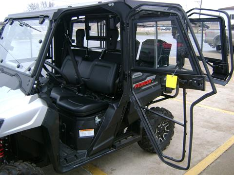 2017 Honda Pioneer 700-4 Deluxe with hard cab in Freeport, Illinois