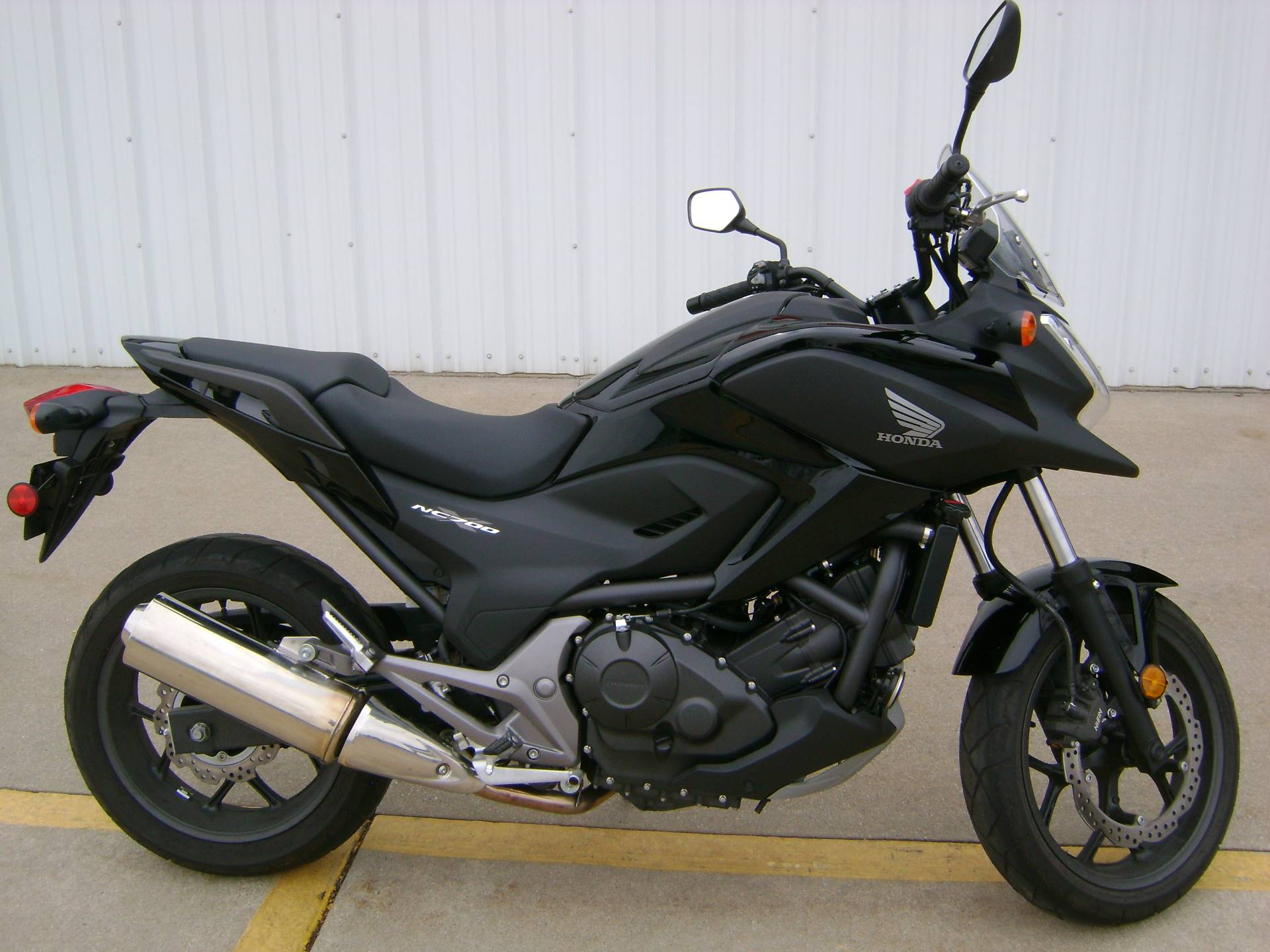 used 2014 honda nc700x motorcycles in freeport il stock number n a. Black Bedroom Furniture Sets. Home Design Ideas