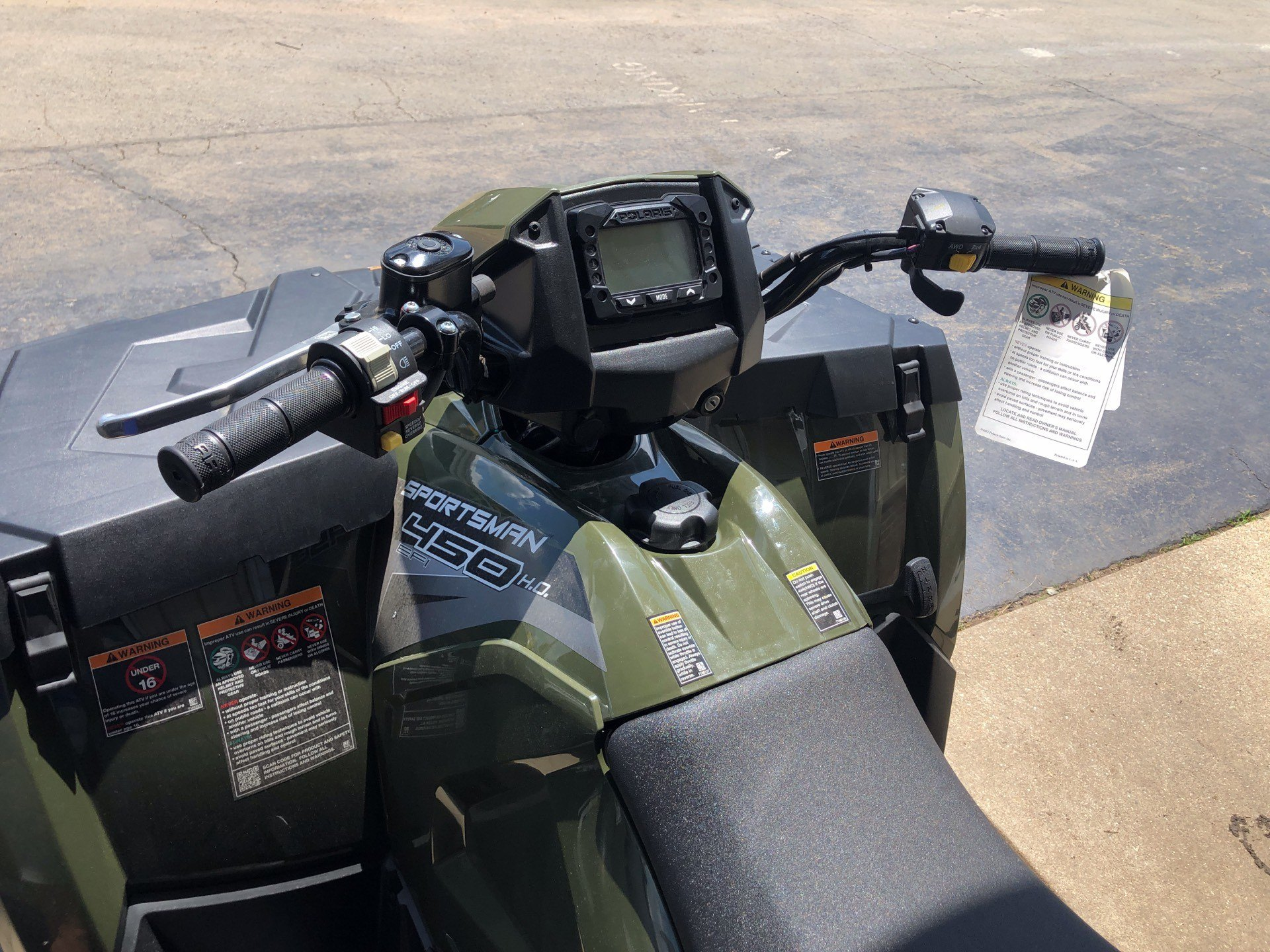 2019 Polaris Sportsman 450 H.O. in Farmington, Missouri - Photo 3