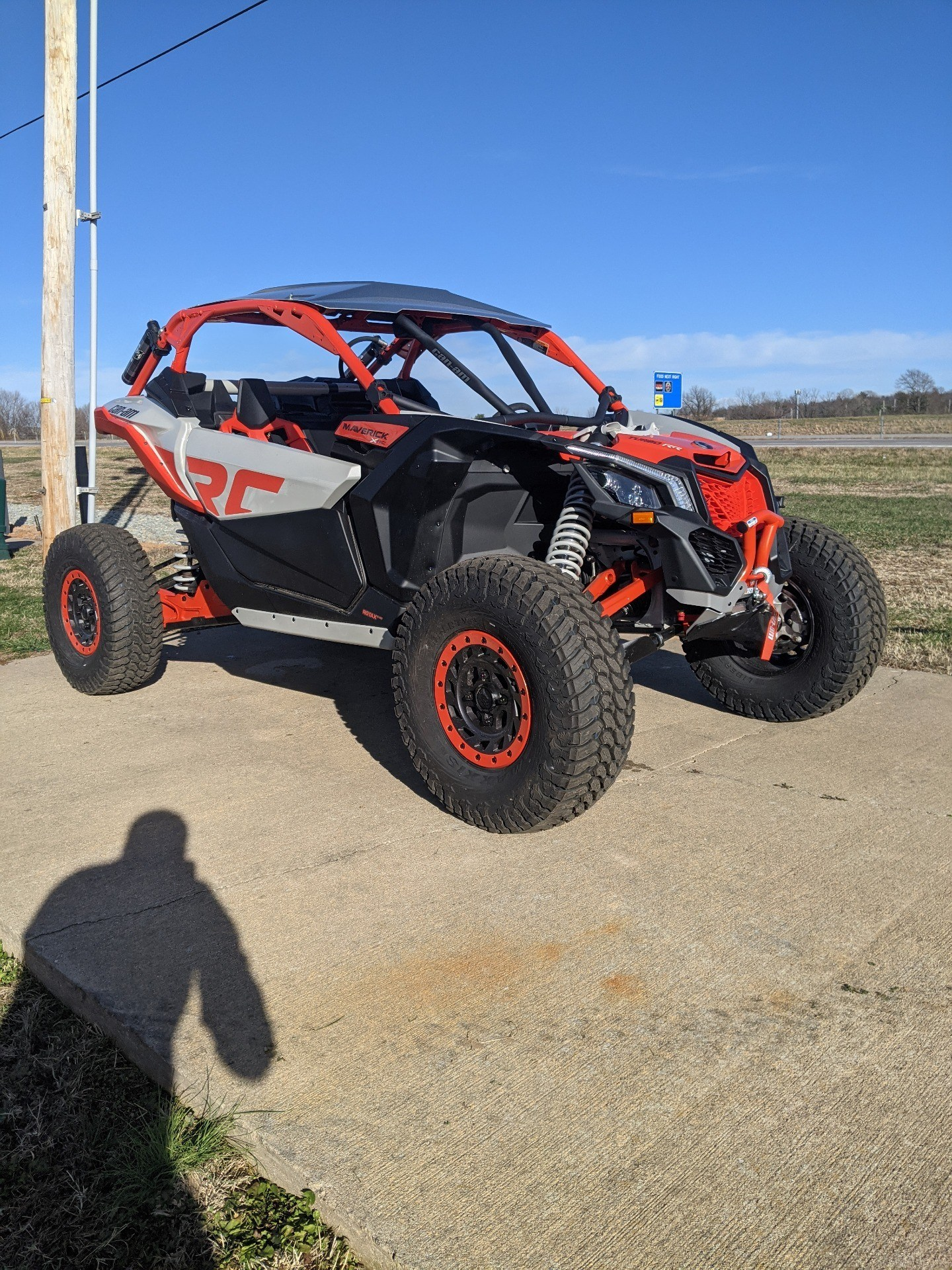 2021 Can-Am Maverick X3 X RC Turbo RR in Farmington, Missouri - Photo 1