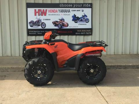 2016 Honda FourTrax Foreman 4x4 in Marshall, Texas