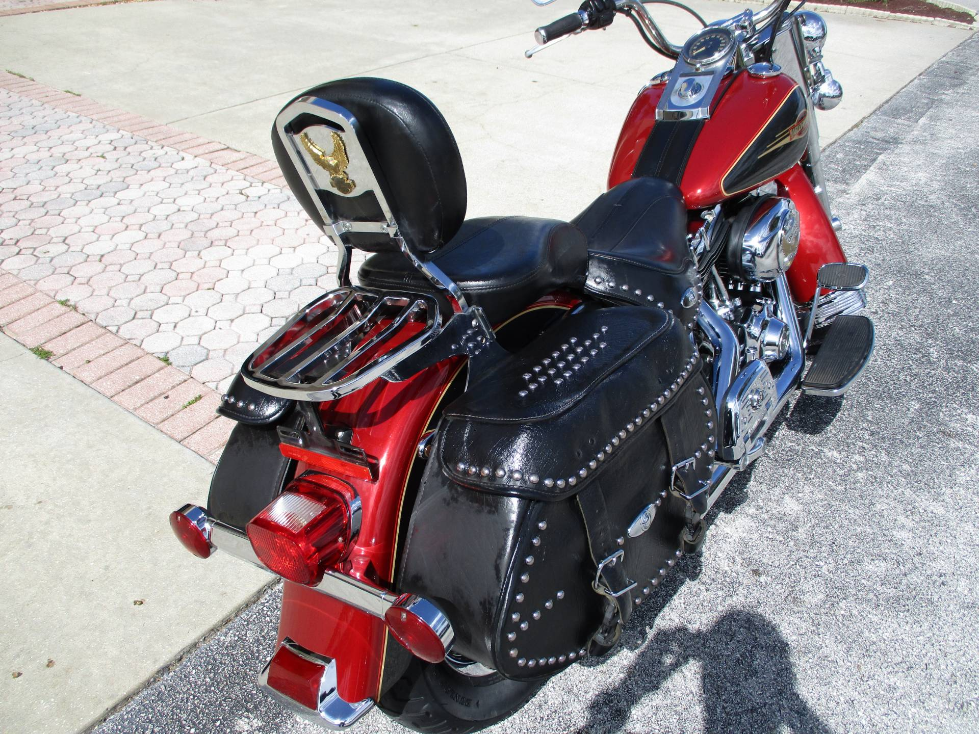 2007 Harley-Davidson FLSTC Heritage Softail® Classic in Clermont, Florida - Photo 9