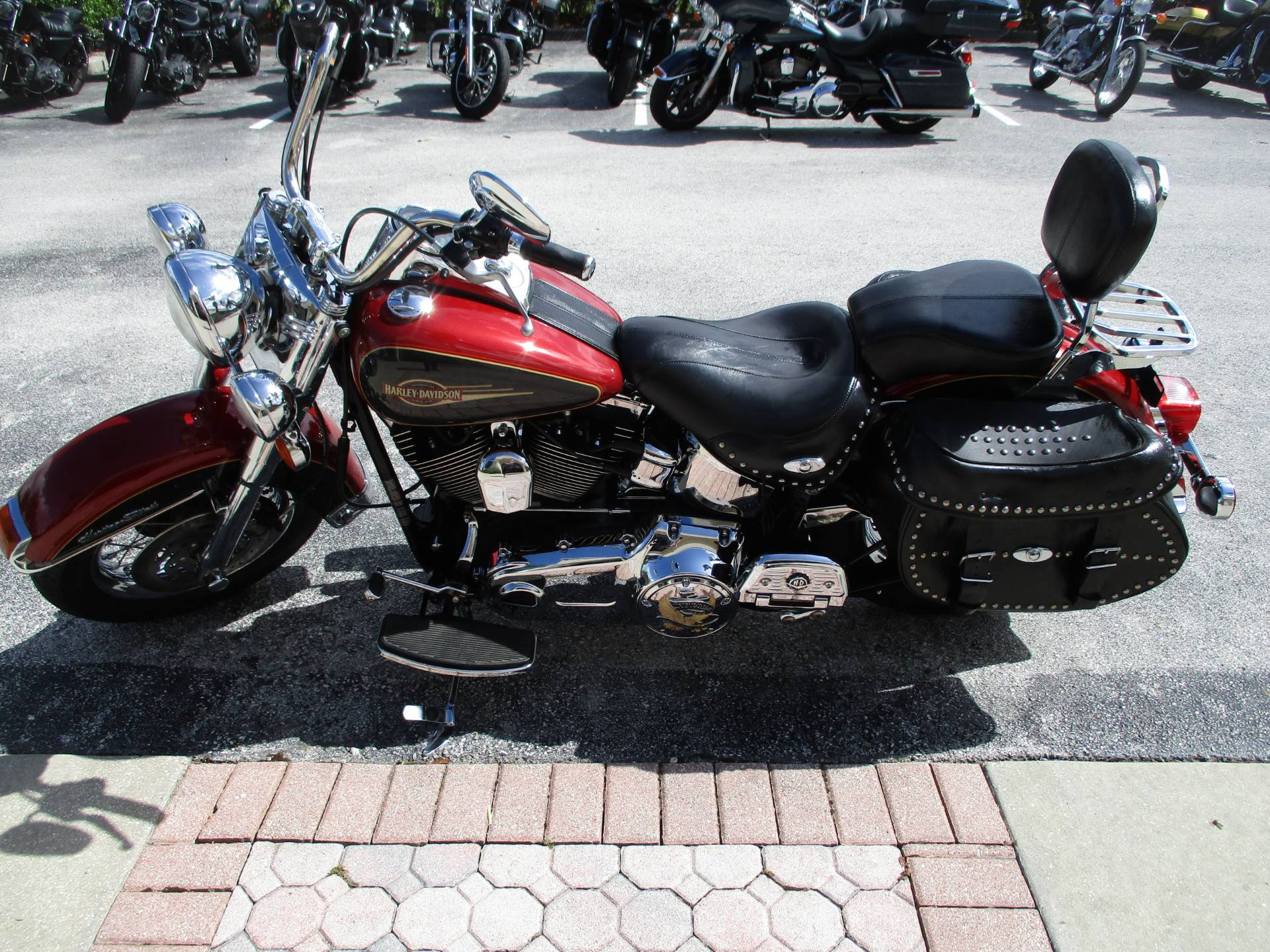 2007 Harley-Davidson FLSTC Heritage Softail® Classic in Clermont, Florida - Photo 12