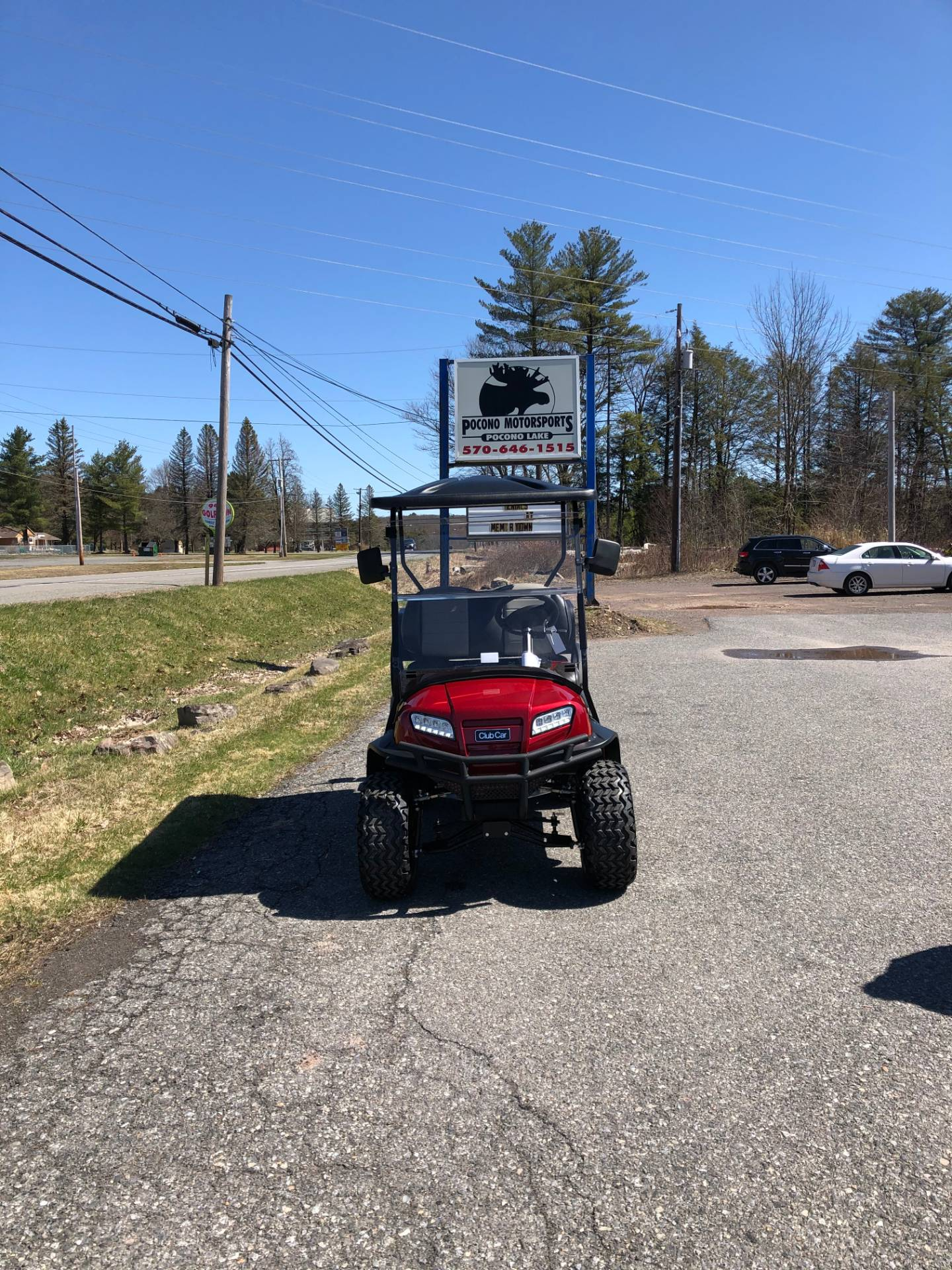 2020 Club Car Onward 4 Passenger Lifted Electric in Pocono Lake, Pennsylvania - Photo 1